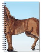Horse Historiae Animalium  Spiral Notebook