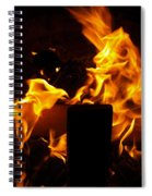 Horse In The Fire Spiral Notebook