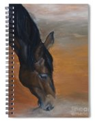 horse - Lily Spiral Notebook