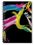 Horse- Lovely Colours Spiral Notebook