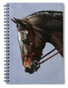 Horse Painting - Discipline Spiral Notebook