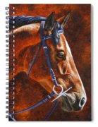 Horse Painting - Ziggy Spiral Notebook