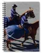 Horse Police Spiral Notebook