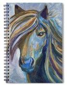 Horse Portrait 102 Spiral Notebook
