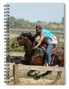 Horse Race Spiral Notebook