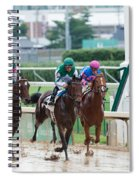 Horse Races At Churchill Downs Spiral Notebook