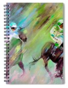 Horse Racing 04 Spiral Notebook
