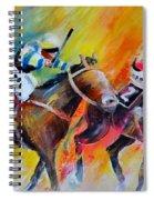 Horse Racing 05 Spiral Notebook