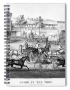 Horse Racing, C1869 Spiral Notebook