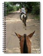 Horse Riding Spiral Notebook