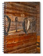 Horse Stable Spiral Notebook