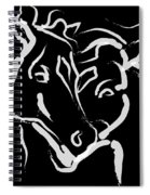 Horse- Together 5 Spiral Notebook