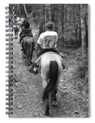 Horse Trail Spiral Notebook