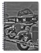 Horseless Carriages Spiral Notebook