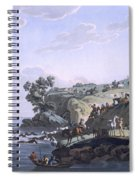 Horses Crossing A River, 1812-13 Spiral Notebook