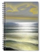Horses Over Sea Spiral Notebook