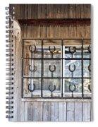 Horseshoe Art Spiral Notebook