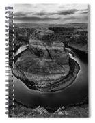 Horseshoe Bend Arizona Monochrome Spiral Notebook