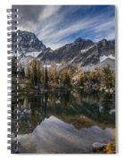 Horseshoe Lake Cloud Dramatic Spiral Notebook