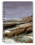 Horseshoes Beach Spiral Notebook