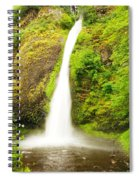 Horsetail Falls In The Spring Spiral Notebook