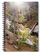 Horsethief Falls Sunburst - Cripple Creek Colorado Spiral Notebook