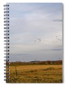 Horsey Windmill In Autumn Spiral Notebook