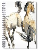 Horsing, 2013 Watercolour And Pigment On Paper Spiral Notebook