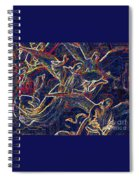 Host Of Angels By Jrr Spiral Notebook