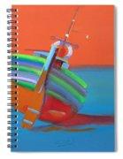 Hot Afternoon Spiral Notebook