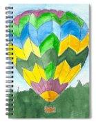 Hot Air Balloon 01 Spiral Notebook