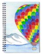 Hot Air Balloon 04 Spiral Notebook
