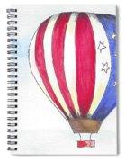 Hot Air Balloon 07 Spiral Notebook