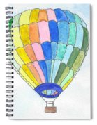 Hot Air Balloon 08 Spiral Notebook