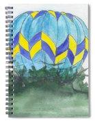 Hot Air Balloon 09 Spiral Notebook