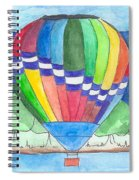 Hot Air Balloon 11 Spiral Notebook