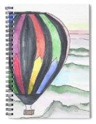 Hot Air Balloon 12 Spiral Notebook