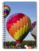 Hot Air Balloon Festival In Decatur Alabama  Spiral Notebook
