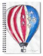 Hot Air Balloon Misc 01 Spiral Notebook