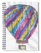 Hot Air Balloon Misc 02 Spiral Notebook