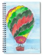 Hot Air Balloon Misc 03 Spiral Notebook