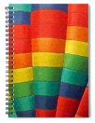 Hot Air Balloon Painterly Spiral Notebook