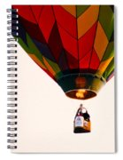 Hot Air Balloon Spiral Notebook