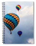 Hot Air Balloon Trio Spiral Notebook