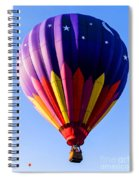 Hot Air Ballooning In Vermont Spiral Notebook