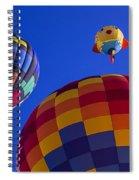Hot Air Balloons Launch Spiral Notebook