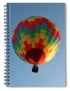 Hot-air Balloons Over Paradise - Immokalee 2014  Number 2  Spiral Notebook