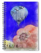 Hot Air Balloons Photo Art 03 Spiral Notebook