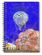 Hot Air Balloons Photo Art 04 Spiral Notebook
