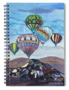 Hot Air Baloons Spiral Notebook